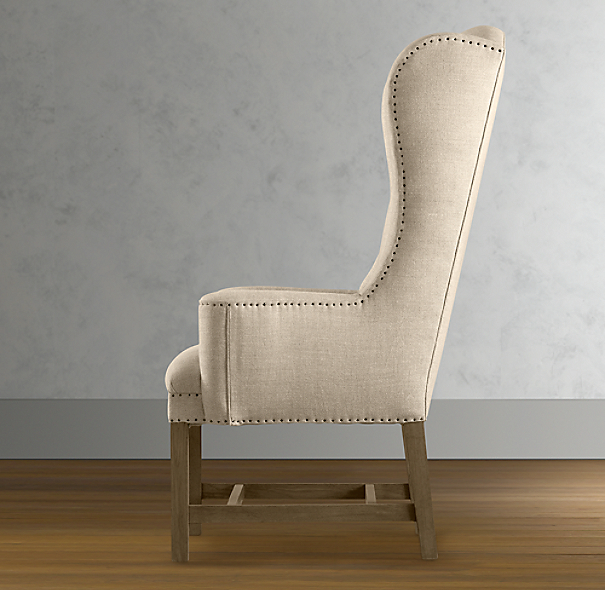 Belfort Wingback Fabric Armchair