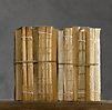 Antiqued Uncovered Book Bundles