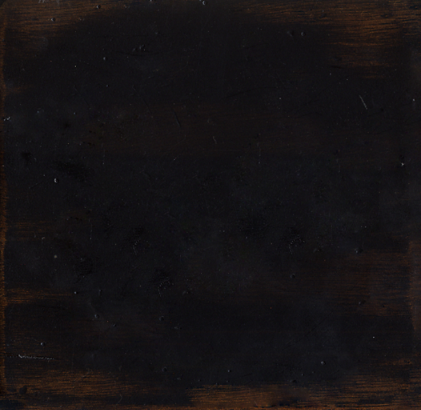 Antiqued Black Furniture Wood Swatch