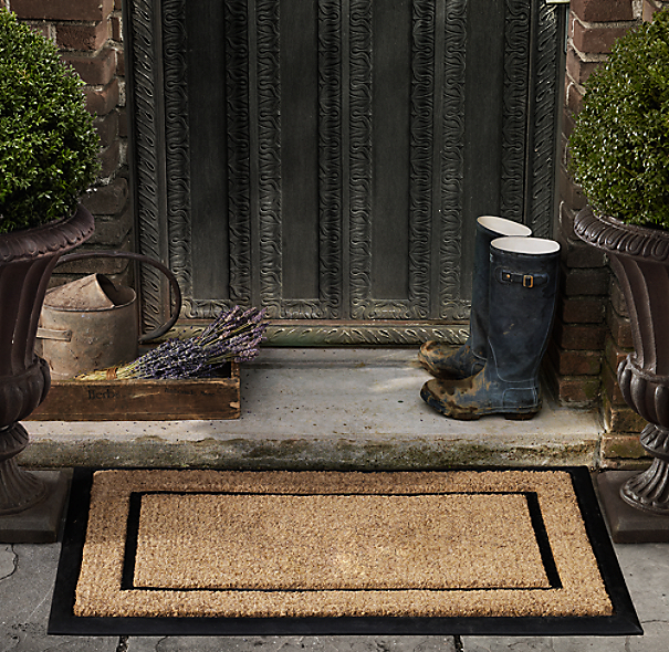 Coir With Rubber Frame Doormat