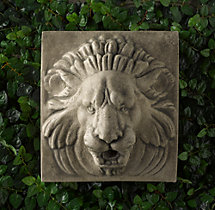 Lion Wall Plaque