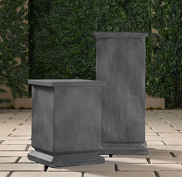 Zinc Footed Pedestal