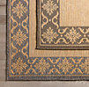 Tapestry Bordered Outdoor Rug
