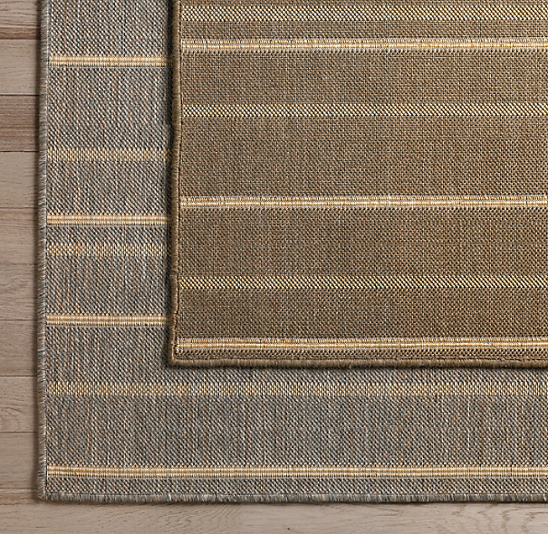 Valencia Striped Outdoor Rug