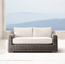 "62"" Provence Luxe Sofa Cushion"