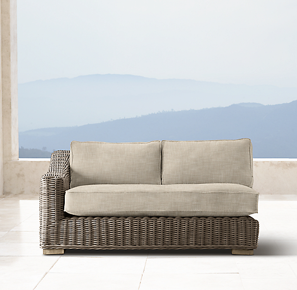 Provence Luxe Left-Arm Sofa