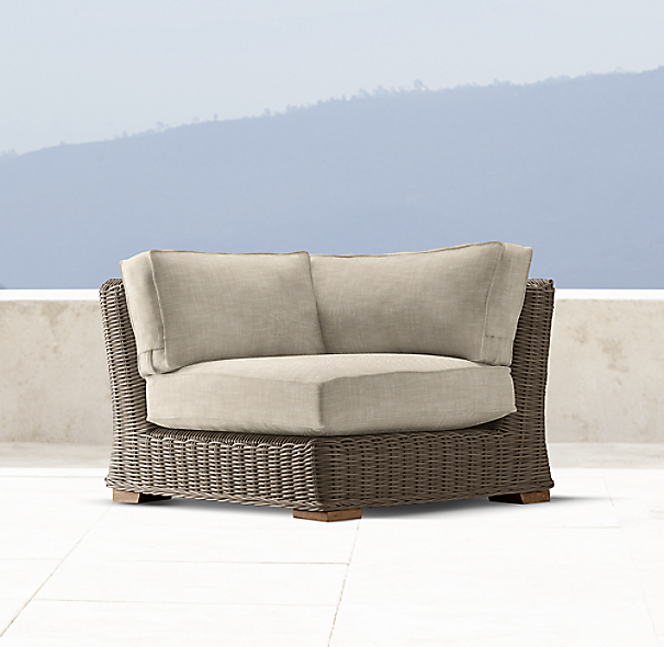 Provence Luxe Corner Chair Cushion