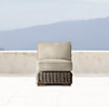 Provence Luxe Armless Chair Cushions