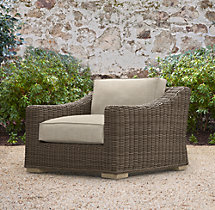 Provence Luxe Lounge Chair Cushions