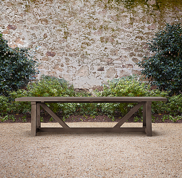 "120"" Provence Beam Rectangular Dining Table"