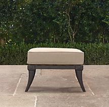 Klismos Luxe Ottoman Cushion