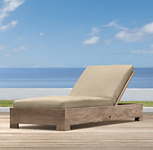 Belvedere Luxe Chaise Cushions