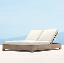 Belvedere Double Chaise