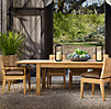 Belvedere Rectangular Dining Set (Set of Table 2 Armchairs and 4 Side Chairs)