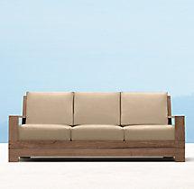 """78"""" Belvedere Luxe Sofa"""