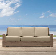 """78"""" Belvedere Luxe Sofa Cushions"""