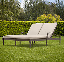 Antibes Double Chaise Cushion