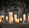 Savoy Square Lanterns Weathered Zinc