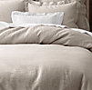 Vintage-Washed Belgian Linen Bedding Collection