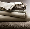 Vintage-Washed Belgian Linen Sheet Set