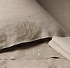 Vintage-Washed Belgian Linen Sheeting Swatch