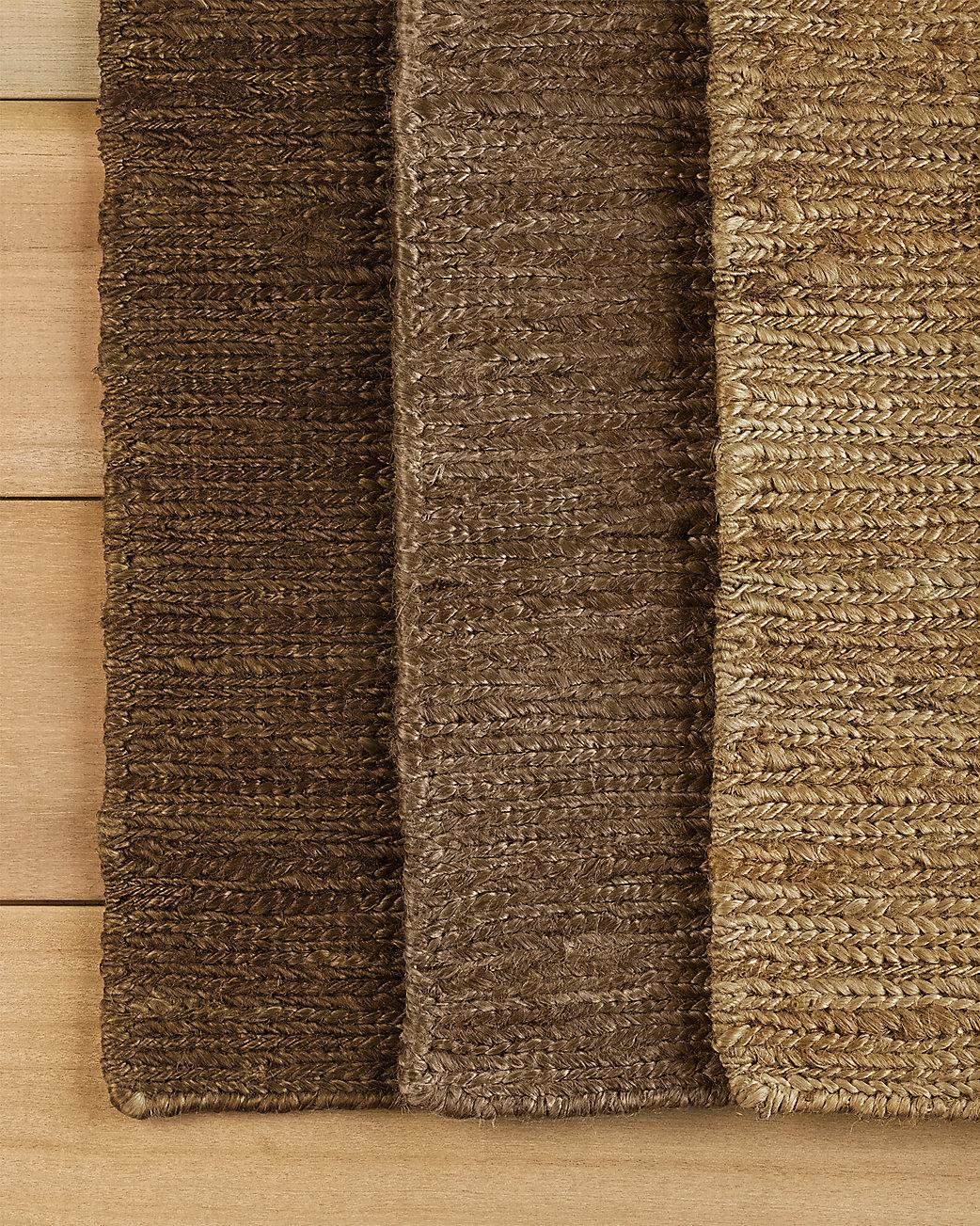 Braided hemp rug for Restoration hardware rugs on sale