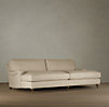 English Roll Arm Upholstered Daybed