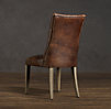 Martine Leather Side Chair