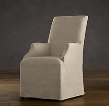 Hudson Parsons Slipcovered Armchair