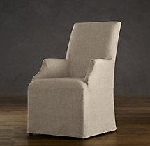 Hudson Parsons Slipcovered Armchair