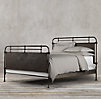 French Académie Iron Bed