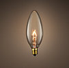 Torpedo Candelabra Clear Bulb (Set of 6)