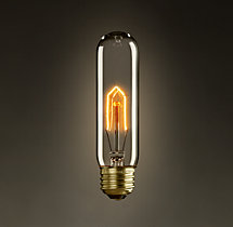 T10 Incandescent Clear Bulb