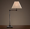 20th C. Parisian Telescoping Table Lamp Bronze