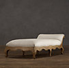 Louis XV Sleigh-Back Chaise