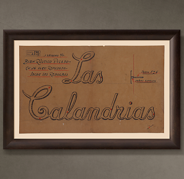 "Las Calandrais Letrero (""The Larks Sign""), 1946"