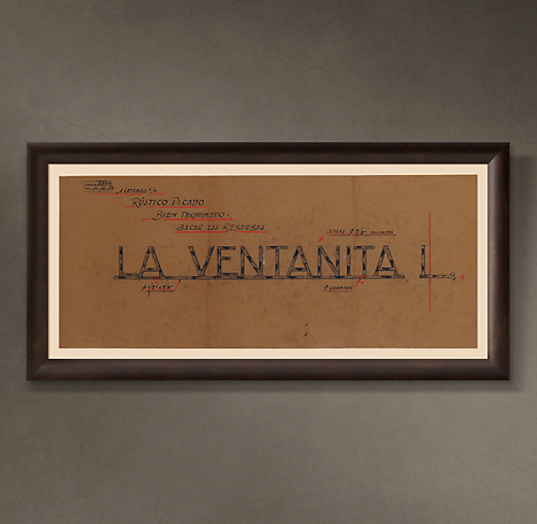 "La Ventanita Letrero (""The Small Window Sign""), 1954"
