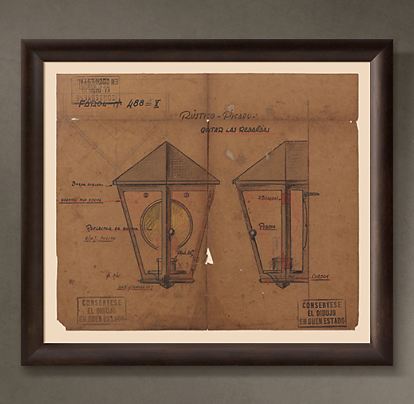 "Farol de Pared (""Wall Lantern""), 1948"