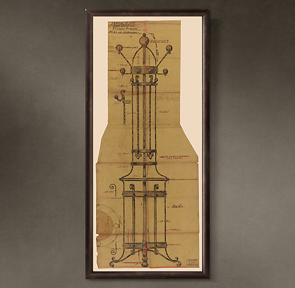 "Percha de Pie (""Floor Standing Coat Rack""), 1935"