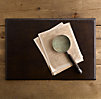Artisan Leather Desk Mat Chocolate