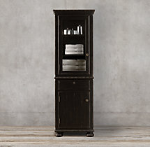 French Empire Medium Bath Cabinet