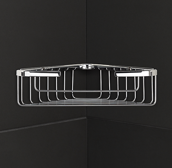 Metro Medium Corner Shower Basket