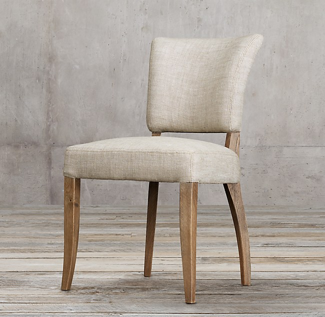 Ad 232 Le Fabric Side Chair