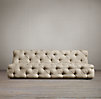 Soho Tufted Upholstered Armless Sofas