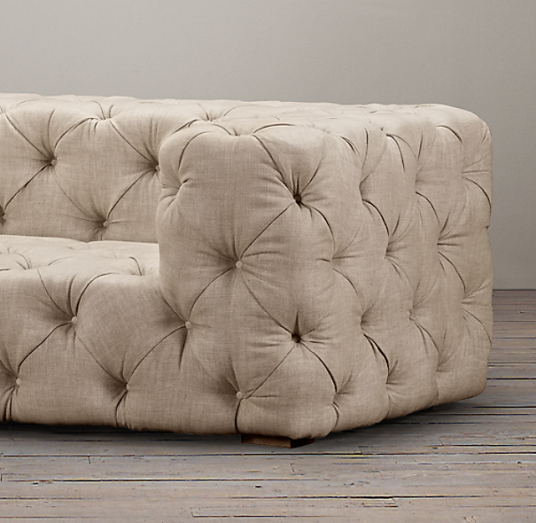 Soho Tufted Upholstered Sofas