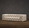 10' Soho Tufted Upholstered Sofa