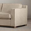 10' Collins Upholstered Sofa With Nailheads