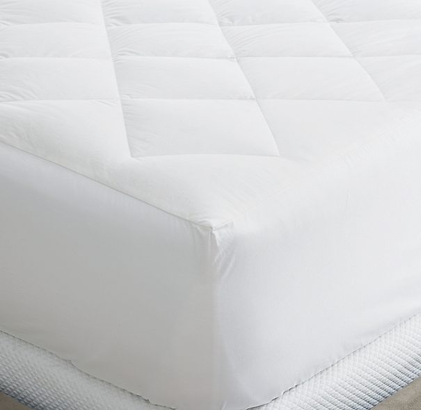 European Down Reversible Mattress Pad