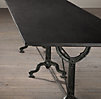 Factory Zinc & Cast Iron Dining Tables