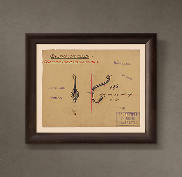 "Percha de Pared (""Coat Hanger for the Wall""), 1932"
